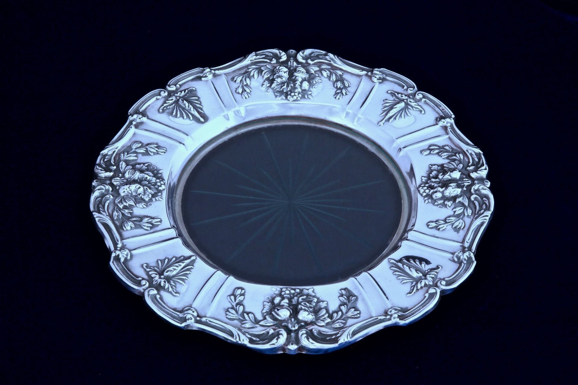 Reed & Barton Francis I | Plate with glass